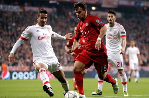 Бавария News: «Бенфика». Лига чемпионов. 1/4 финала, обзор