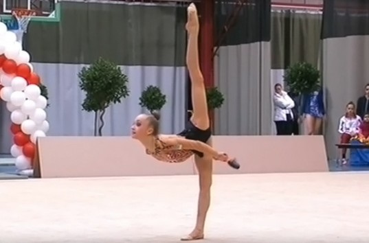 Гимнастка завоевавшая больше всех золотых медалей